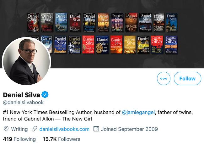 Daniel Silva Twitter Header