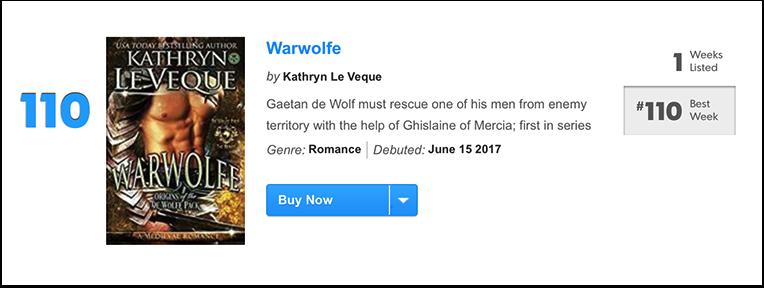 USA Today Bestseller List