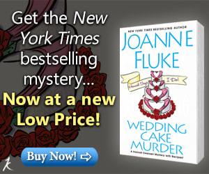 BookBub Ad: Wedding Cake Murder