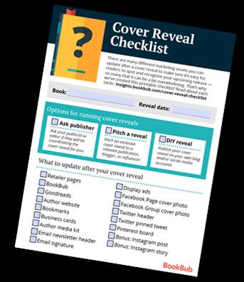 Cover Reveal Checklist